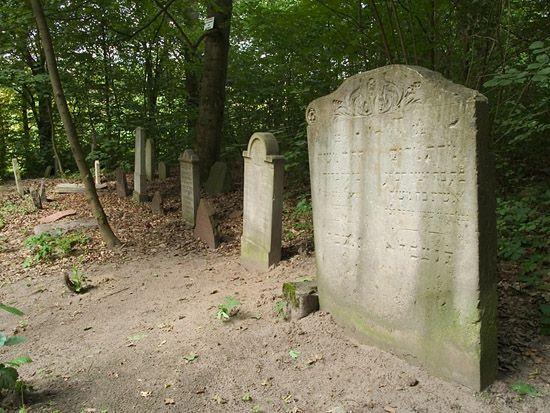 Debrzno - cmentarz żydowski