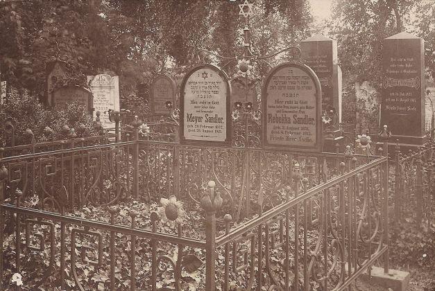 Cmentarz zydowski w Inowroclawiu (zdjecie z kolekcji Yorama Gruenspana)