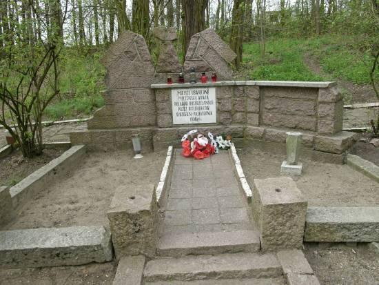 Pomnik na cmentarzu żydowskim w Szubinie