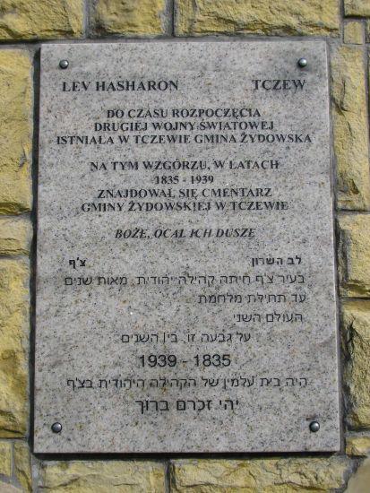 cmentarz żydowski w Tczewie